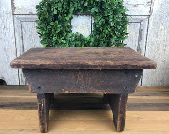 Vintage Authentic Farmhouse Stool