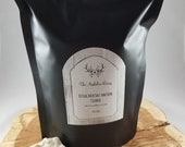 Ritual Bath Salt and Herb Cleanse (14oz.):  Bath Soak, Scrub, Empath and Energy Cleanse, Anti-Anxiety, Calming, Meditation