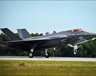Poster, Many Sizes Available; F-35C Lightning Ii Strike Fighter Squadron Vfa-101 Grim Reapers