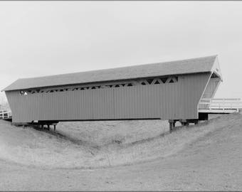Poster, Many Sizes Available; Imes Covered Bridge