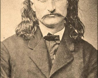 20% Off Sale - Poster, Many Sizes Available; Wild Bill Hickok