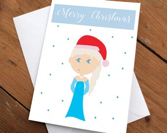 ELSA - xmas edition // christmas,holidays,festive,greeting cards,frozen,princess,love,disney