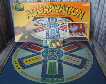 Vintage Aggravation Board Game, 1987, Aggravation,