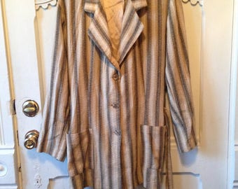 Womens linen blazer jacket