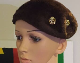 Vintage Hat by Brigadoon Pinehurst Fifth Avenue New York Hat Exclusively For Davison's