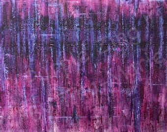 Purple Zing - Giclee Print
