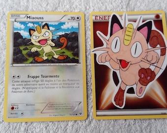 Custom Pokémon Meowth card