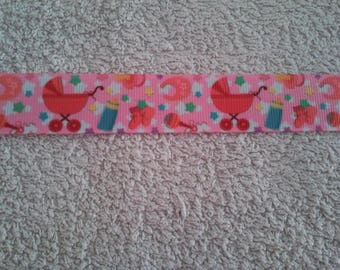 Ribbon baby girl (by the yard) 22mm