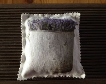 Pillow with Lavender (2 templates)