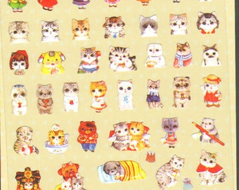 Kawaii! Kitties and other furry animals stickers