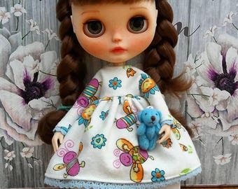 Handmade dress for Blythe or similar doll