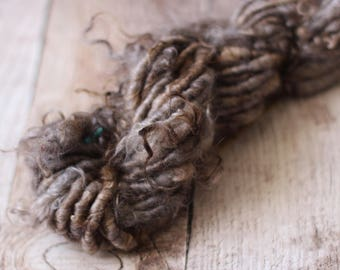 Handspun Yarn - Corespun Mohair Locks No. 234
