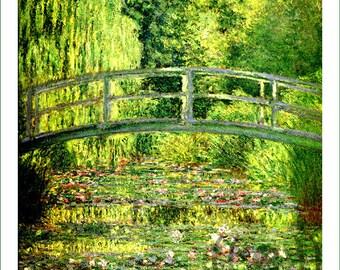 fabric panel - Claude Monet (10)
