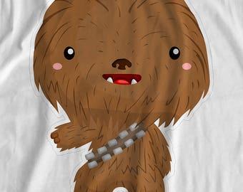 Star Wars - Chewbacca - Iron On Transfer