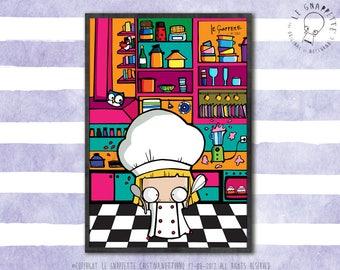 Print Kitchen Chef