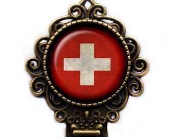 Switzerland Swiss Flag Bookmark