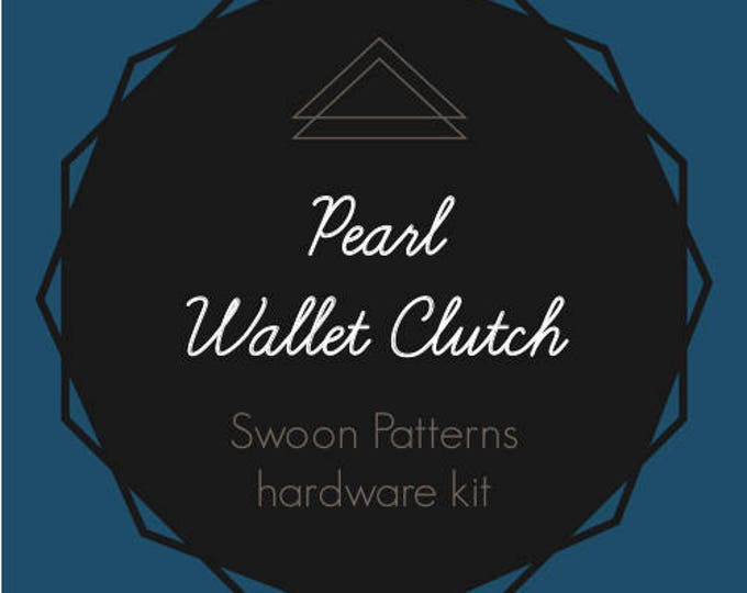 Pearl Wallet Clutch - Swoon Hardware Kit