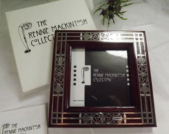 Charles Rennie Mackintosh Photo Frame Unused Boxed Carrick Jewellery