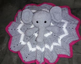 Elephant Security Blankie