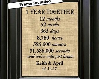 1 Year Anniversary Etsy