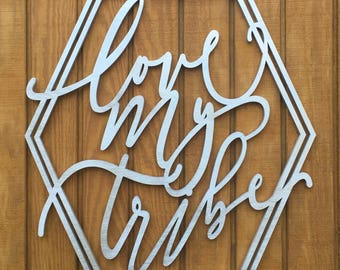Love My Tribe - Script font-