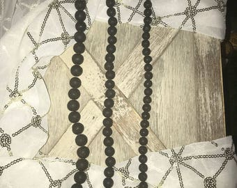 Lava Stone Beads, Lava Stone, Lava, 6mm, 8mm, 10mm, 12mm