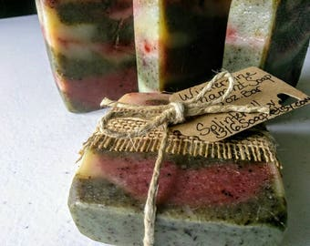 Fir Needle Soap/Organic Soap/Essential Oil Soap/Cold Process Soap/Natural Soap/Vegan Soap/Handmade Soap/Bar Soap/Soap Gift