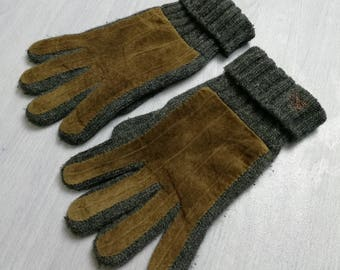 Hot Sales, BURBERRY Mens Cashmere Blend Winter Gloves