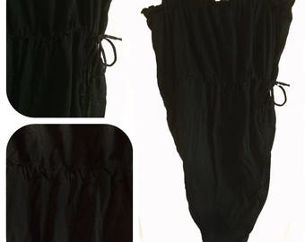 "Bodysuit - ""Simple black"" - beach T36 until T38"