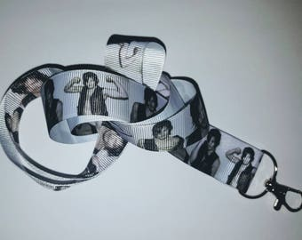 The Walking Dead lanyard, inspired by Daryl Dixon