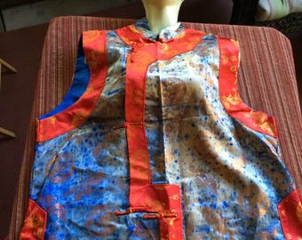 Chinese Blouse,Oriental Top,Retro Chinese Blouse,Chinese Top,Oriental Blouse,Asia Top,Retro Chinese Top,Asia Blouse,China Top,China Blouse