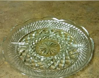 Westford Divided Relish Platter by Anchor Hocking