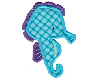 Ocean Creatures Applique Design 5 Machine Embroidery Design 4x4 5x7 6x10