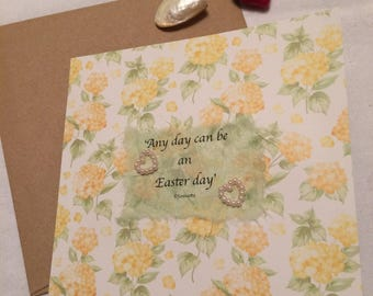 Hand crafted Easter card by Jannietta