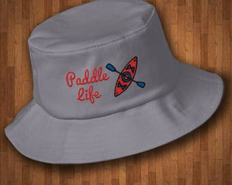 Kayaking Bucket Hat - Paddle Life Bucket Hat