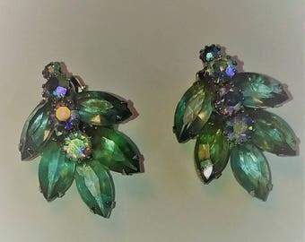 Fantastic Weiss blue/green earrings.