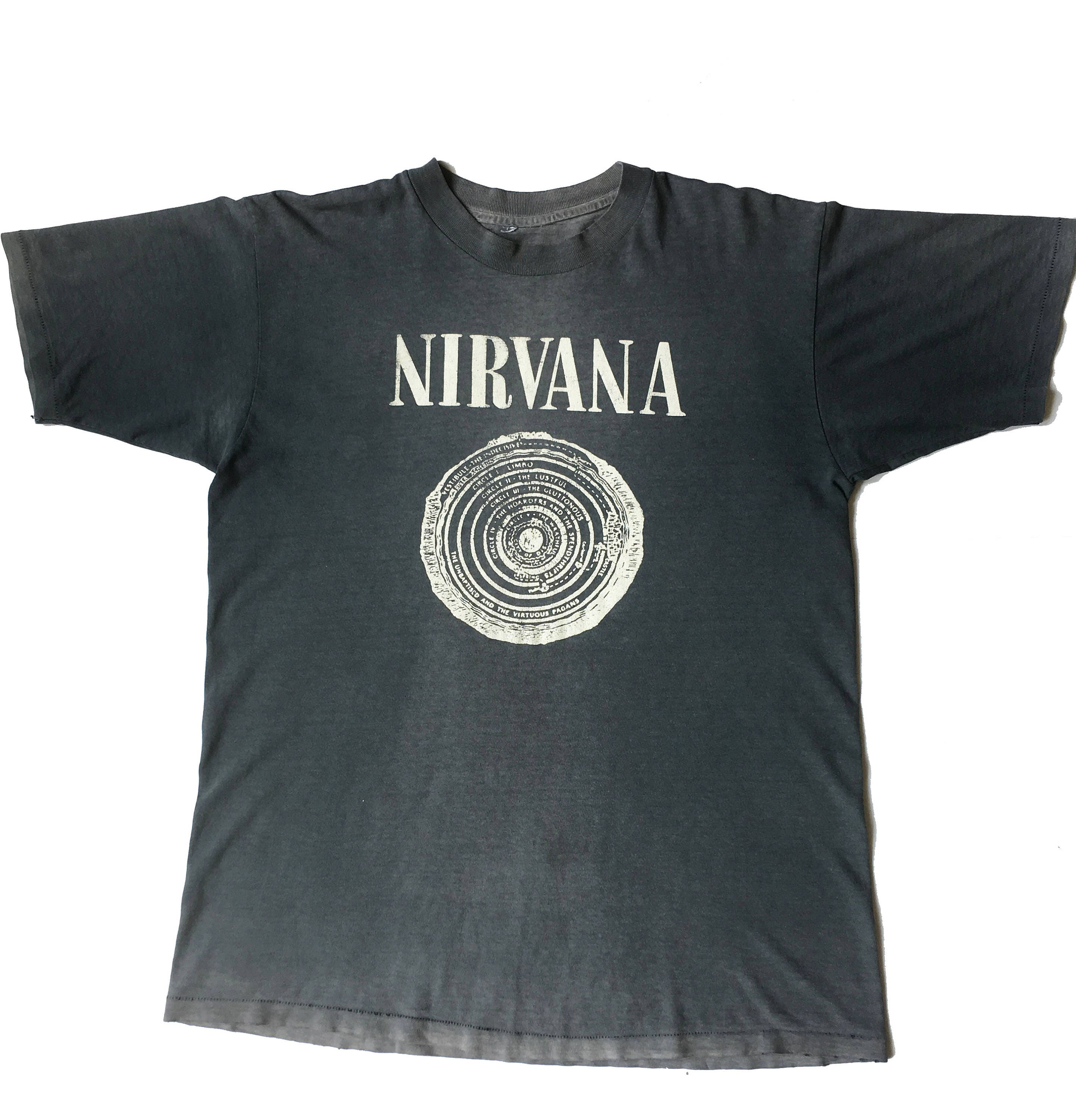 vintage nirvana t shirt. Black Bedroom Furniture Sets. Home Design Ideas
