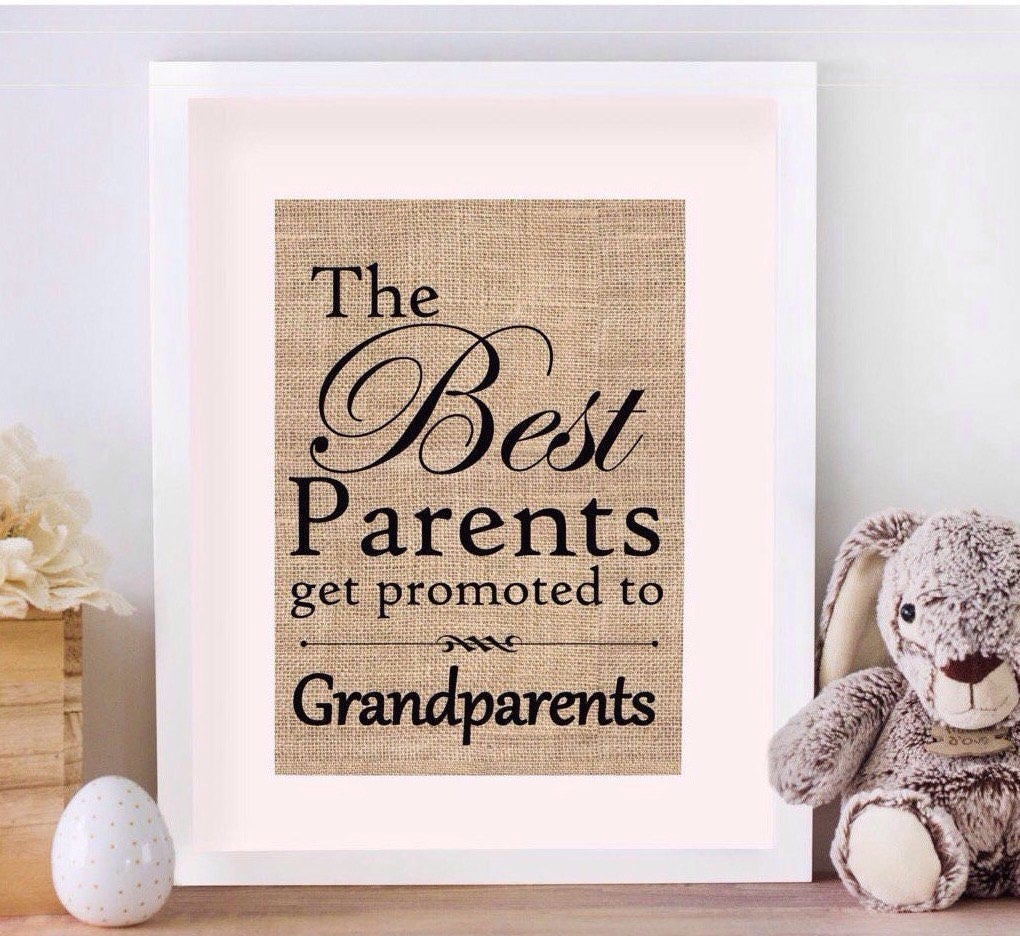 Best Parents Get Promoted To Grandparents Sign Pregnancy