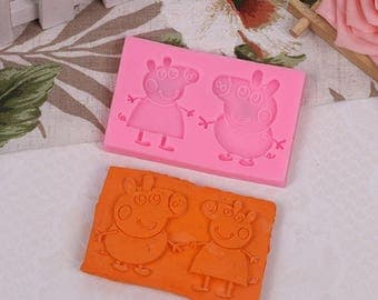 Piglet Pig silicone mold
