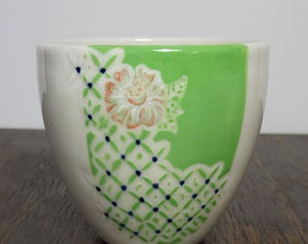 Decorative Green Tea Cup