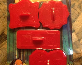 Pocahontascookie cutter set