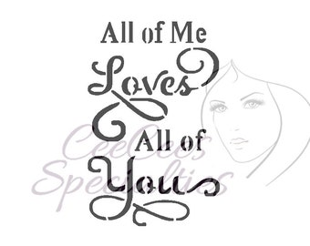 All Of Me - Love Quote