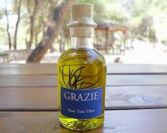 175 pcs Italian Style Olive Oil Favors (70ml/ 2.4oz), Olive Oil Wedding Favors, Olive Oil Baby Shower Favors, Olive Oil Bridal Shower Favors