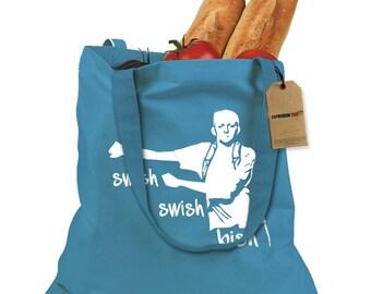 Swish Swish Bish Shopping Tote Bag