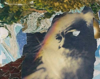 Collage (Blood-eyed Walt Whitman)