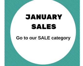 Jewellery sales, rings on sale, earrings on sale, bracelets on sale, discount jewellery, January sales