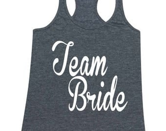 ON SALE - Team Bride - Ladies' Tank Top