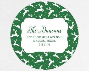 24 HOUR DIGTIAL FILE, Christmas Return Address Labels, Holiday Return Address Labels, Christmas Address Labels, Printable Address Labels