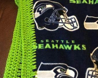 Seattle Seahawk Blanket