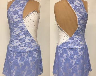Adult XS periwinkle Skating dress